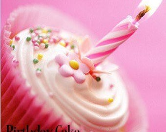 Birthday Cake Candle Scented Scent Soy Jar Candles