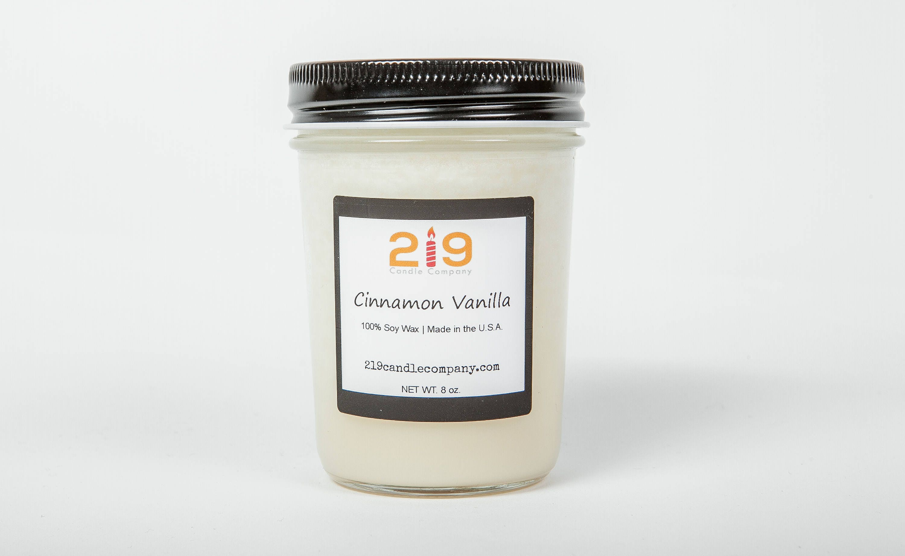 Cinnamon Vanilla Candle Soy Etsy Natural Wax Scented Candles