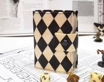 Harlequin Spellbook - Card holder - RPG Accessories - DnD Gifts -