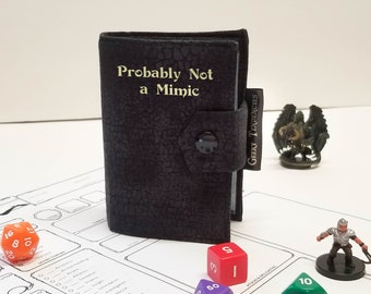 Personalized Spell book - Card Album - DnD Accessories - Gamer gifts