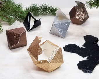 Favour Boxes - Polyhedral dice - DnD Dice Box - gaming decor -  DIGITAL FILE