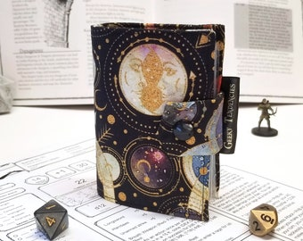 Spellbook - Card holder - RPG Accessories - DnD Gifts - Cosmic Print