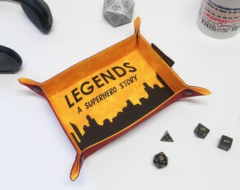 Personalized Dice Tray, Folding Dice Tray, Board Game Accessories, Gamer Gifts,