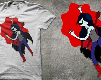 Adventure Time T-shirt Marceline