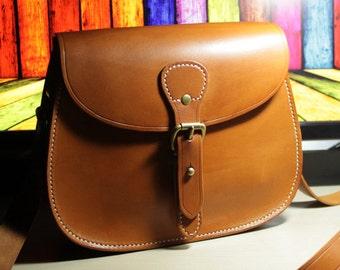 PDF pattern saddle bag leather