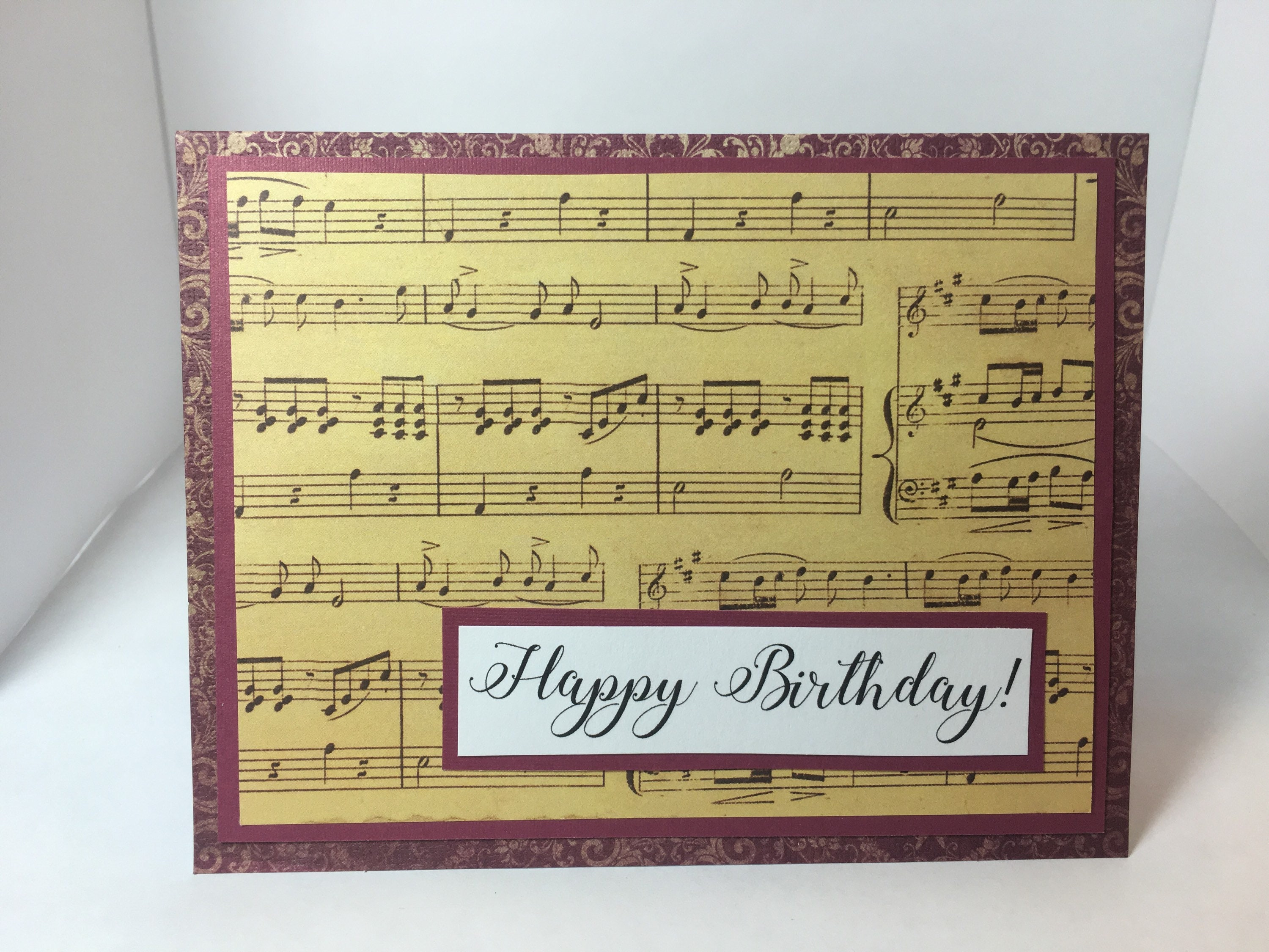Swell Happy Birthday Card For Your Music Teacher Inspiration Or Etsy Personalised Birthday Cards Cominlily Jamesorg