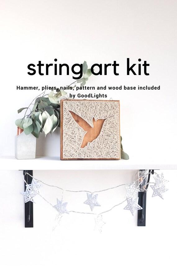 Kolibri String Art Set String Art Set für Erwachsene und   Etsy
