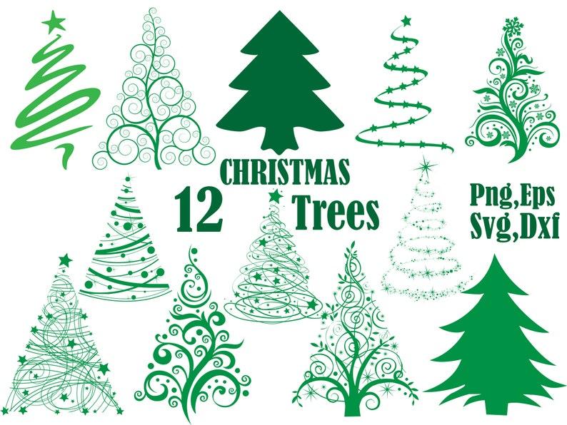 Clipart Tannenbaum Schwarz Weiß.Christmas Tree Svg Silhouette Clipart Kiefer Bäume Clipart Svg Vektor Clipart Xmas Tree Hollyday Clipart Weihnachtsbaum Scrapbooking Dxf