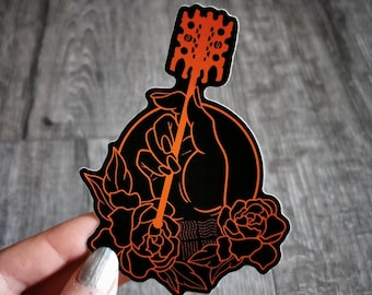 Minimalist Supreme Being - fifth element leeloo sticker