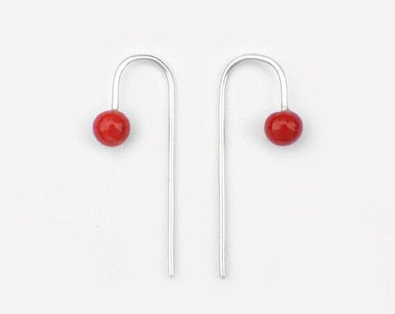 Boucles d'oreilles Epingles tordues