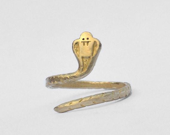 Bague Certains cobras sont gentils