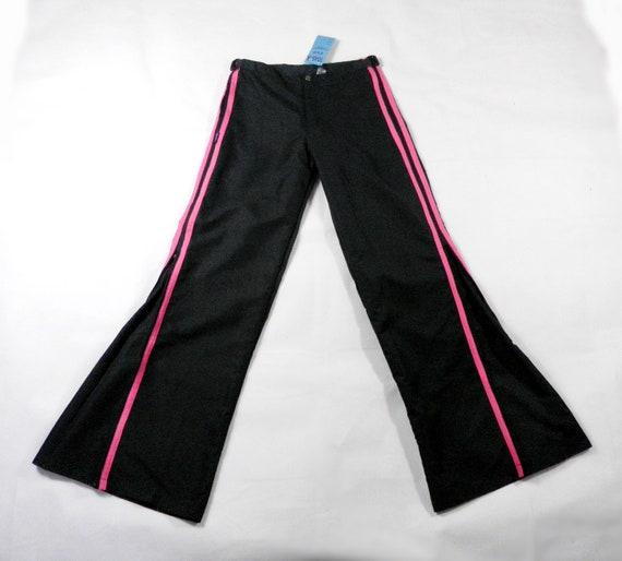 1990s Striking Cobalt Blue and Dark Blue Raver Cotton Baggy Shorts by Toasta Size S  M Rave Dance Festival Boho Art Punk