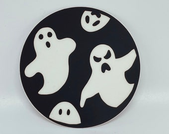 Spooky Ghost Sticker   Cute   Halloween   Autumn   Fall  