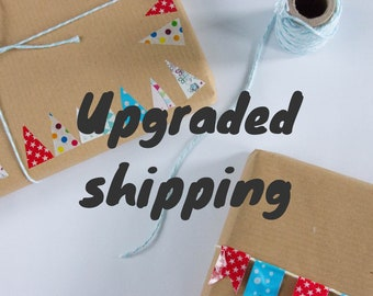 Upgrade to Courier Shipping
