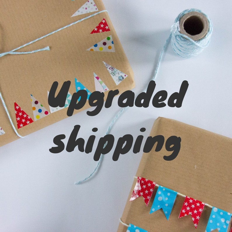 Upgrade to Courier Shipping image 0