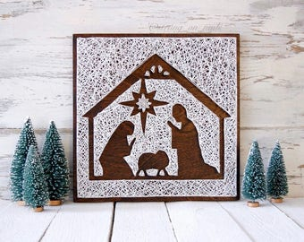 8109b2dfb5a0 MADE TO ORDER Negative Space Nativity