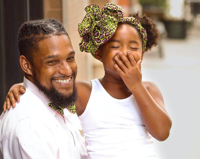 Turban Wax, African Headwrap, Ankara Turban, Women's Scarf, Green Headwrap, Animal Print Headwrap, Gifts For Women, Hair Wrap, Kids Headwrap