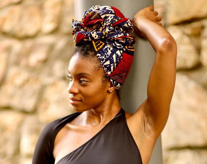 Turban Wax, African Headwrap, African Scarf, Unique Scarf, Hair Scarf, Gifts For Women, Ankara Headwrap, Kids Headwrap, Turban, Scarf