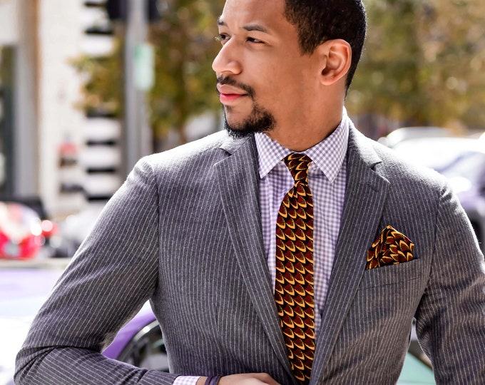 Ankara Necktie, Men's Necktie, Wedding Necktie, Groomsmen tie