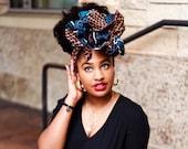 Turban Wax, Ankara Headwrap, African Fabric Headwrap