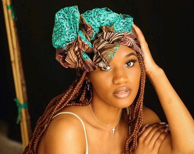 Turban Wax, Women's Headwrap, Kids Headwrap, Women's Gifts, African Scarves