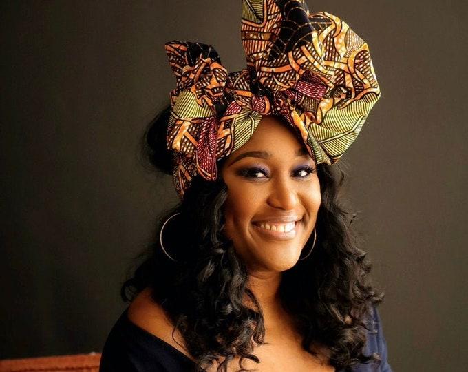 Turban Wax, African Headscarf, African Headwrap, Women's Gifts, Ankara