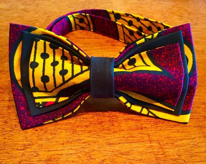 African Bow Tie, Bow Tie, Boys bow tie, Nigerian bow tie, Pre-Tied Bow Tie, mens bowtie , Bow Tie for women, kids bowtie