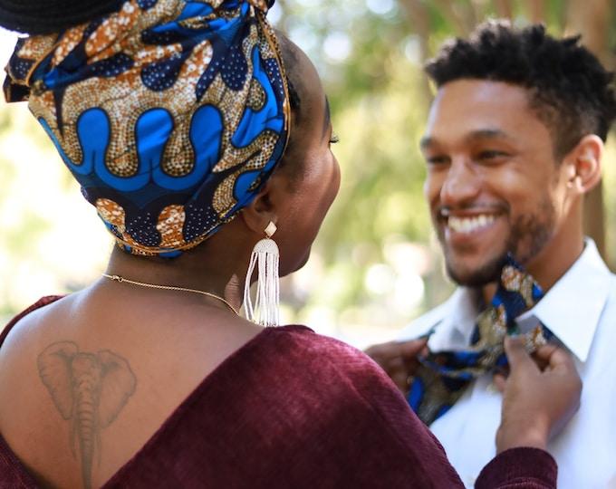 Turban Wax, African Print Headwrap, Women's Headwrap, African Scarf