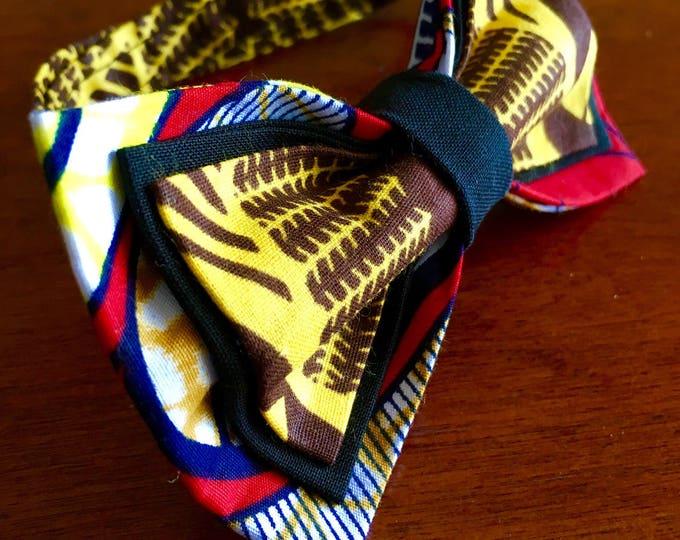 Bow tie, African Bow tie, mens Bow tie, Ankara Bow tie, Boys bow tie, African clothing, unisex bowtie