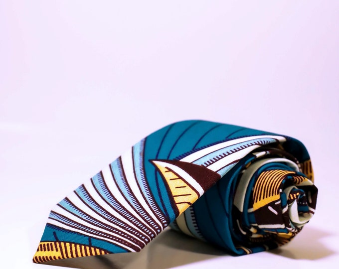 Men's Necktie, African Print Tie, Ties For Him, Gifts For Him