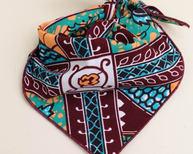 African Dog Bandana, Pet Gifts, Pet Accessories, Pet Clothing, Pet Neckwear