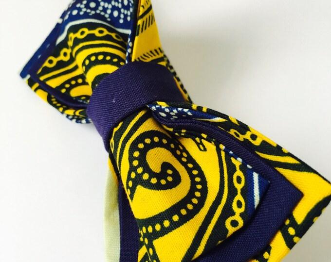 African Bow Tie, Bow Tie, Ankara bow tie, Nigerian bow tie, Pre-Tied Bow Tie, Bow Tie for men, Bow Tie for women, Bow Tie for kids
