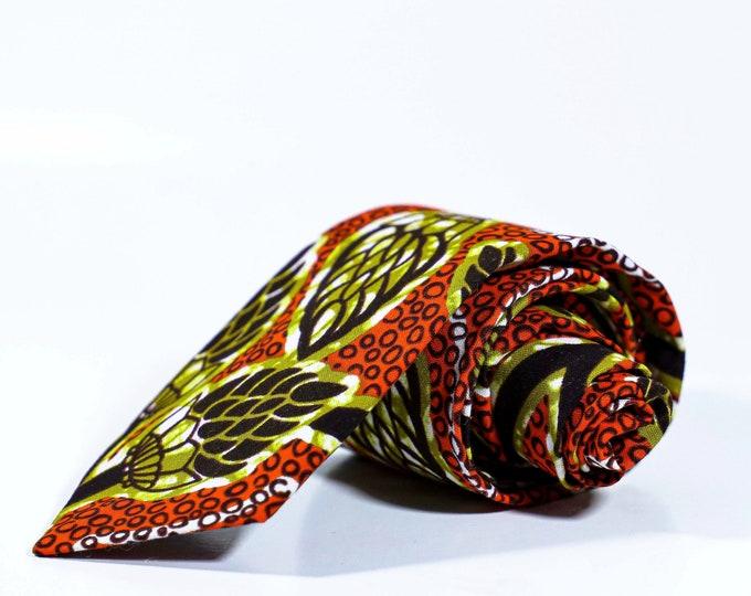 Men's Necktie, African Necktie, Ankara Tie, Wedding Tie