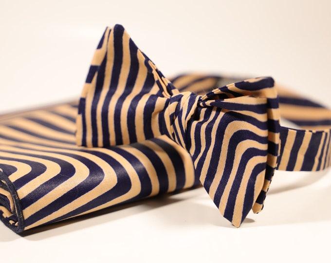 African Bow tie, Handmade Bowtie, Men's Bow tie, Wedding Bow tie, Groomsmen Gifts