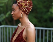 Turban Wax, Women's Headwrap, Ankara Headwrap