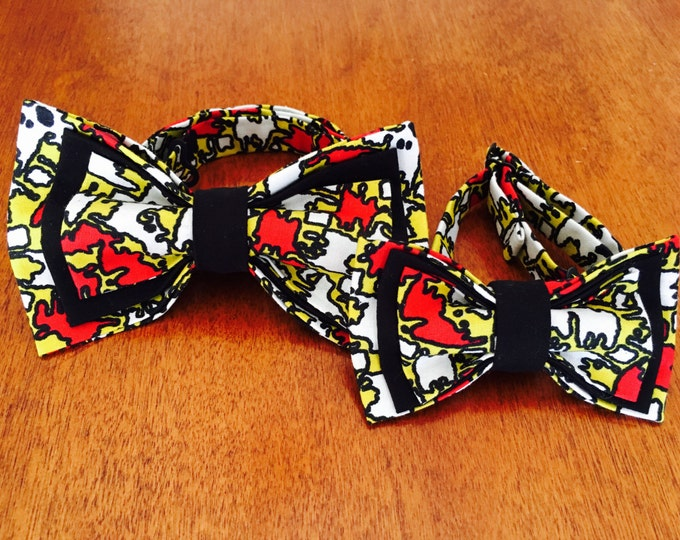 Dynamic Duo African Bowtie