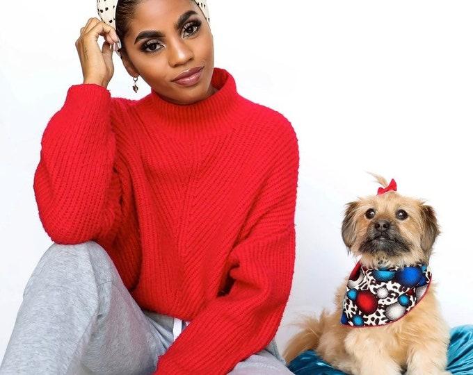 Dog Bandana, Pet Bandana, Christmas Gifts, Pet Neckwear, Puppy Clothes, Puppy