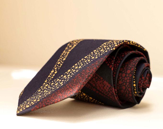 Ankara Tie, African Tie, Men's Tie, Fall Tie, Wedding Tie, Grooms Tie, Groomsmen's Tie, Gifts for Men, Black Tie, Pocket Square, Lapel Pins