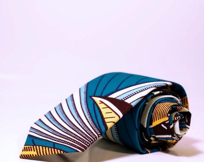 Men's Necktie, African Print Tie, Ties For Him, Gifts For Him