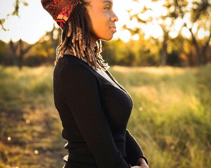 Turban Wax, Women's Headwrap, African Headwrap, Gifts For Her