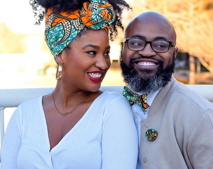 Turban Wax, Headwrap, African Fabric Headwrap, Women's Headwrap