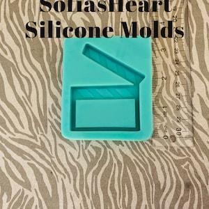 Polaroid Picture Shaker Silicone Mold Small Or Regular