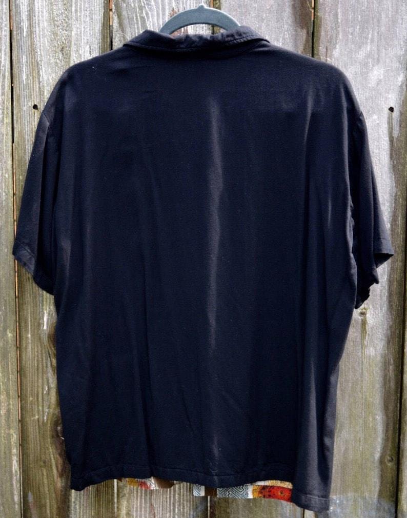 Men/'s shirt  Retro Shirt  90/'s Lounge Shirt