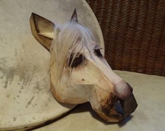DIY Halloween mask, Horse head mask, horse costume, Printable Templates, Instant Download, Adult mask, Kids mask