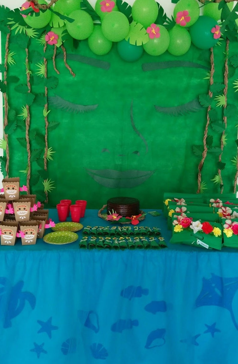 DIY Moana Birthday Party Decoration Returns The Heart Of