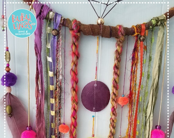 Large Bohemian Gypsy inspired Dream catcher