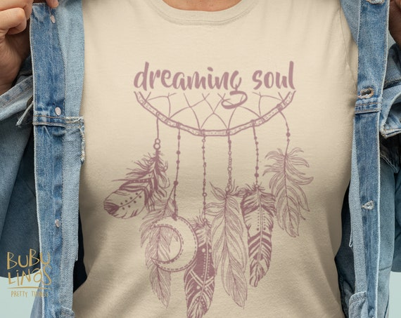 Dreaming Soul - Boho T-shirt for women