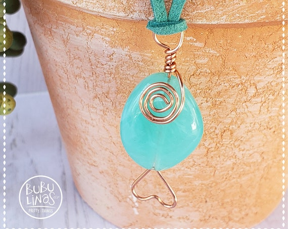 Bohemian Jewelry, Summer Necklace, Beach jewelry