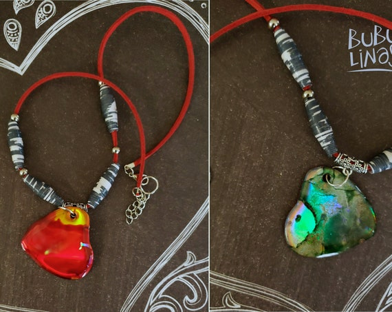 Bohemian Two sided Necklace
