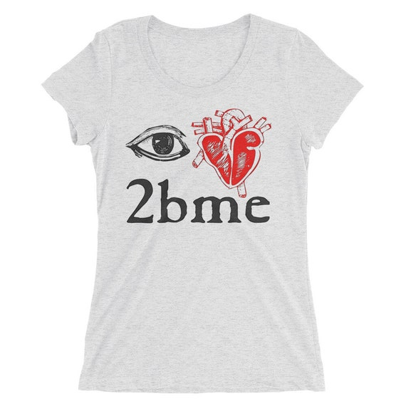 I love to be me - Ladies' short sleeve t-shirt
